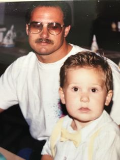 My pa and I 1991.