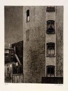 Tenement Walls by Armin Landeck