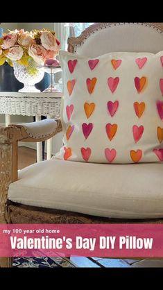 Valentine's DIY Pillow