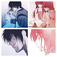 Yona learned from Hak how to protect people that are important for you