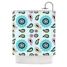 "Kess InHouse Nina May ""Paisley Candy"" Paisley Flower Shower Curtain, 69 by 70-Inch Kess InHouse http://www.amazon.com/dp/B00NMBU4H8/ref=cm_sw_r_pi_dp_LUpMub0QBJT1M"