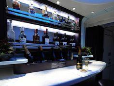 Virgin Australia Business Class onboard bar