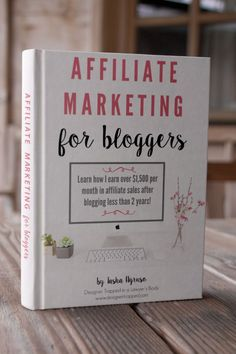 AMAZING resource for bloggers!  This eBook, Affiliate Marketing for Bloggers, covers absolutely everything bloggers need to know to maximize their affiliate sales through their blogs AND through social media!