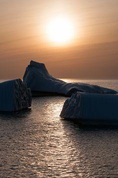 Quidi Vidi Icebergs, Sunrise, St. John's, Newfoundland <3