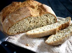 Hurtigt groft brød uden gær | foodfanatics opskrifter