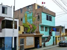 GLOBAL STREET ART — The Walls of Lima - Interview with Peru's Decertor