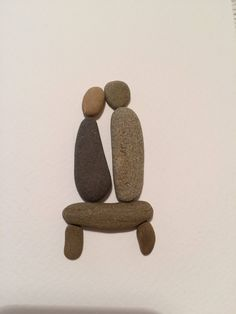 Handmade greeting card,Pebble art couple, loving couple, romantic gift for wife, husband gift idea, engagement present, anniversary gift by SeacraftArt on Etsy https://www.etsy.com/listing/562655988/handmade-greeting-cardpebble-art-couple