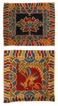 Two Asian Style Ter Rugs Lot 551
