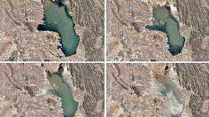 El servicio permite observar importantes cambios en la superficie terrestre, como la desaparició...