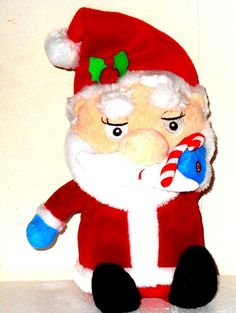 Christmas Santa animated and musical sings and dances to RESPECT  http://stores.ebay.com/JEWELRY-AND-GIFTS-BY-ALICE-AND-ANN