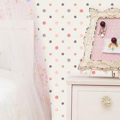 Papel de parede adesivo poás colorido - StickDecor | Decoração Criativa