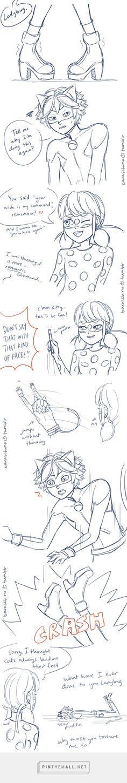 Laser point heels chat noir comic ladynoir