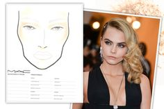 How To Contour, by Face Shape