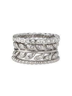 Stackable Floral Rings omg I love rings soooooooooooooo much :D