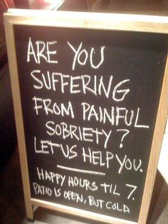 <b>Raise a glass to the best and most creative chalkboards known to man</b>.