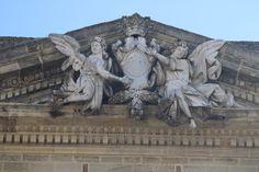 detalle de la fachada en la iglesia de San Juan Bautista en Chiclana de la Frontera Lion Sculpture, Statue, Art, John The Baptist, Art Background, Kunst, Performing Arts, Sculptures, Sculpture