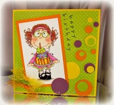Lisa Cook - cute card!