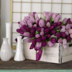 Fixer Upper Inspired Flower Arrangements