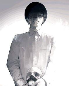 Kaneki Ken by Sui Ishida Ken Kaneki Tokyo Ghoul, Tokyo Ghoul Manga, Manga Art, Manga Anime, Anime Art, Ayato Kirishima, Tokyo Ghoul Wallpapers, Drawn Art, Image Manga