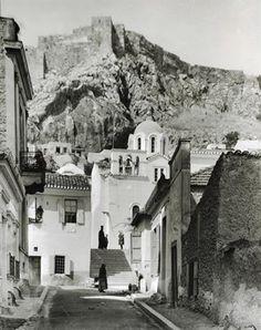 Αθήνα. Ο ναός του Αγίου Νικολάου Ραγκαβά στην Πλάκα, περ. 1903-1923