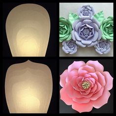 Just finished these beautiful templates for these fabulous style flowers for my…