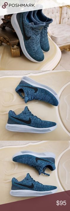 Women's Lunarepic Low Flyknit 2 Training Shoes New Without Box 100% Authentic, Guaranteed!  Nike Women's Lunarepic Low Flyknit 2 Training Shoes   Women's Size 9.5 - Regular - Euro Size 41  Iced Jade/Dark Atomic Teal/ Black  Style 863780-303 Nike Shoes Athletic Shoes