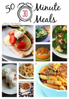 50 Thirty Minute Meals