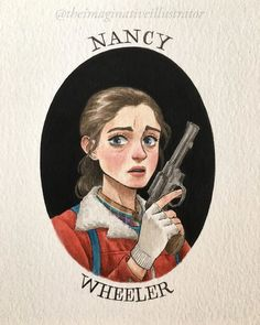 [New] The 10 Best Art Ideas Today (with Pictures) - Nancy! (The drawing I was painting during yesterdays live with my sis ) Nancy Stranger Things, Stranger Things Characters, Stranger Things Have Happened, Stranger Things Season, Stranger Things Netflix, Cool Art, Sketches, Fan Art, Drawings