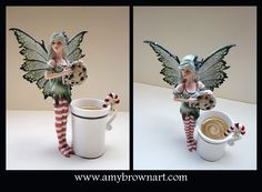 MISC GOODIES - Figurines - Amy Brown Fairy Art - The Official Gallery - Holiday Cookie Thief