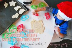 5 Tips for Hosting a Successful Cookie Decorating Party for the Preschool Set