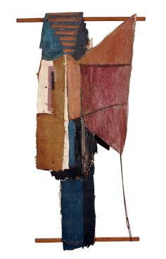 Assemblage,1955 Roy Lichtenstein