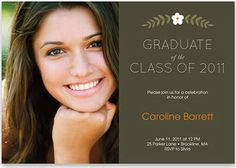 Grad Party Invite Idea