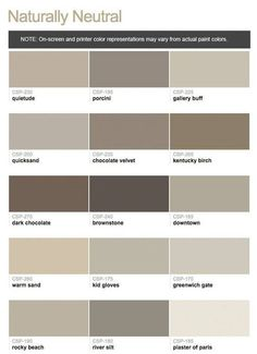 Plaster of Paris and Downtown paint colors benjamin moore taupe Taupe Paint Colors, Exterior Paint Colors, House Paint Exterior, Exterior House Colors, Paint Colors For Home, Grey Paint, Vintage Paint Colors, Neutral Paint, Taupe Color
