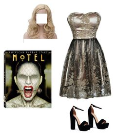 """Hotel"" by baldwinadia ❤ liked on Polyvore featuring Boohoo"