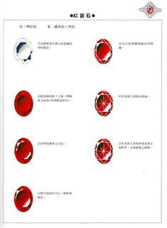 阿Pe的相册-珠宝金属基本画法