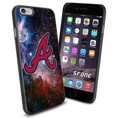 Atlanta Braves MLB Galaxy Logo WADE6136 Baseball iPhone 6 4.7 inch Case Protection Black Rubber Cover Protector WADE CASE http://www.amazon.com/dp/B013Z071GC/ref=cm_sw_r_pi_dp_grACwb16P7GBK