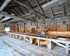 Old Sawmill   Saga ved Svingesetvatnet.   stigkk   Flickr