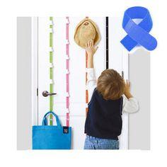 Bestselling Free adjustment strong bag 8-hooks belt for doors/bag hat clothes receiving hang rope-random color +Free Cable Tie #Affiliate