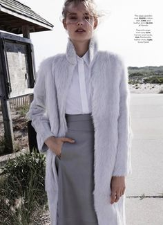 visual optimism; fashion editorials, shows, campaigns & more!: softly, softly: svea berlie by patric shaw for uk marie claire october 2013