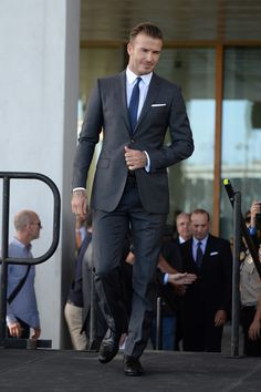 David Beckham Wears Burberry To Launch A Major League Soccer Franchise: http://thefashioncatalyst.com/site/2014/02/david-beckham-wears-burberry-to-launch-a-major-league-soccer-franchise/