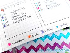 Aprons 'n Pearls: My 2014 Planner... Your Questions Answered