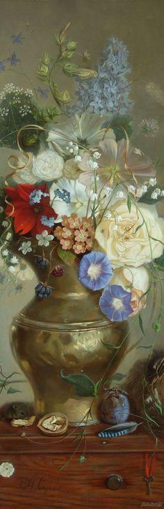Susol Alex - Floral Still Life
