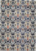 Momeni Casa 2 Navy Rug x Navy Rug, Geometric Rug, Modern Area Rugs, Graphic Patterns, Fun Patterns, Design Patterns, Design Ideas, Power Loom, Joss And Main
