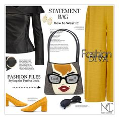 """""""How to Style a Statement Bag"""" by mcheffer ❤ liked on Polyvore featuring Seychelles, Mi Jong Lee, Ralph Lauren and statementbags"""