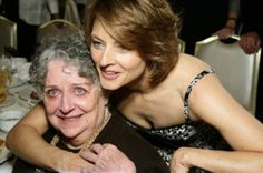 """Jodie Foster, a primary caregiver for her mother, who has dementia, said at the Golden Globes - """"Mom, I know you are inside those blue eyes somewhere. I love you, I love you, I love you, and I hope that if I say this three times, it will magically and perfectly enter into your soul, fill you with grace and the joy of knowing that you did good in this life, you're a great mom, please take that with you when you're finally okay to go."""""""