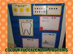 First Grade Garden: Calendar Routine and Journal