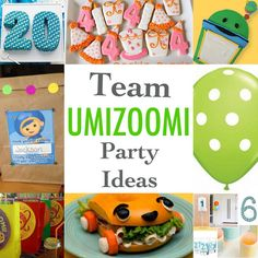 Team Umizoomi Party Ideas ~ The Dragons Fairy Tail