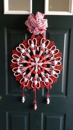 Candy Cane wreath                                                                                                                                                                                 More