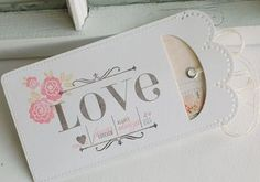 All My Love Gift Card Holder by Betsy Veldman for Papertrey Ink (December 2012)