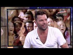 [Part 1/6] Ricky Martin on the program El Hormiguero in Madrid.